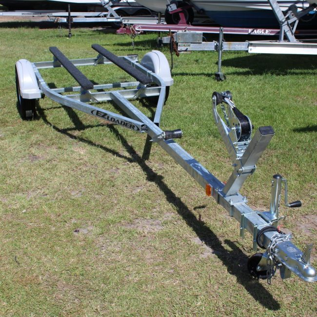 Fresh or saltwater small boat trailer