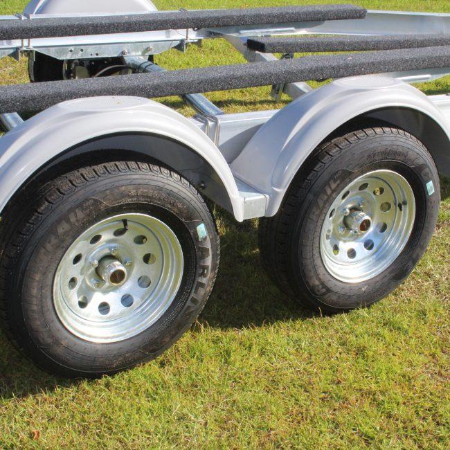 Tandem Wheels ABS Fenders