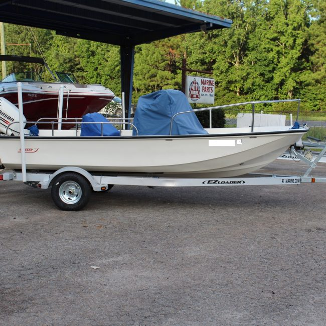 1961 - 2002 Boston Whaler 17 Montauk Boat Trailer