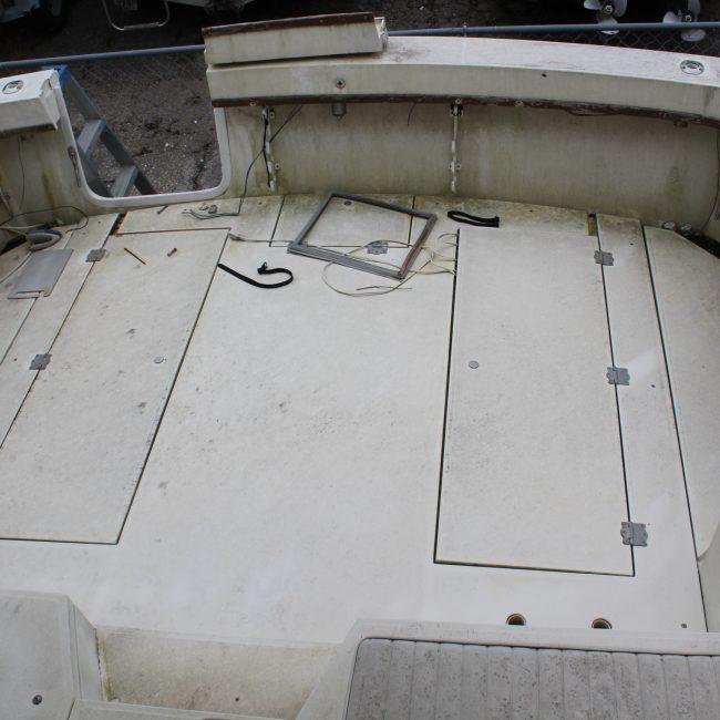 Stern Cockpit View